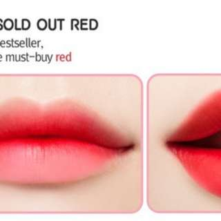 PeriPera Ink Airy Velvet - Sold Out Red
