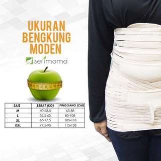 Bengkung Moden Serimama 3-in-1 Size M, Free Poslaju