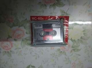 Sony錄音帶二盒,一全新起平