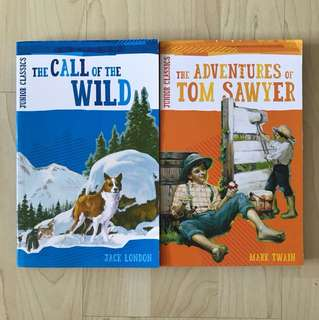 Junior Classics - The Call Of The Wild By Jack London / The Adventures of Tom Sawyer By Mark Twain