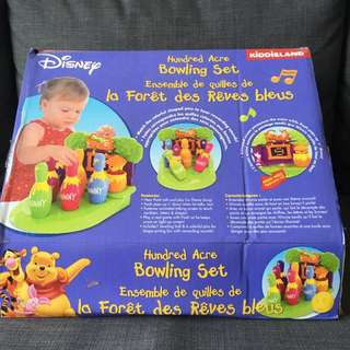 Disney Bowling Set Toy