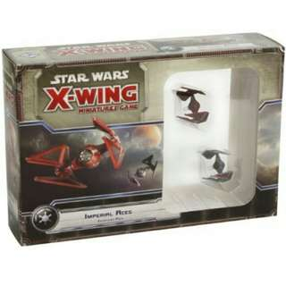 X wing miniature imperial aces