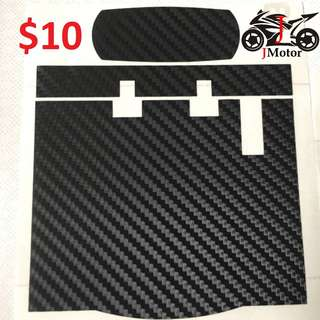 slim IU Sticker motorcylce