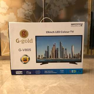 19 inch Analog Tv , brand new, in box