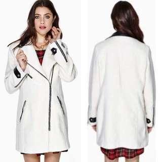 Nastygal Miette Wool Coat