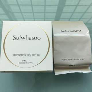Brand New Sulwhasoo Perfecting Cushion EX Refill - No.11 Porcelain Pink