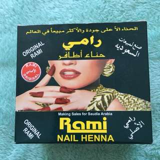 Henna for nails
