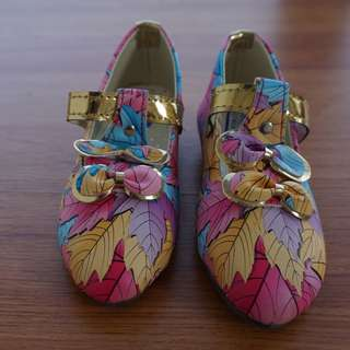"""Girl Baby Shoe """"Multi Colour"""" [One Year Girl Baby -Size 2]"""