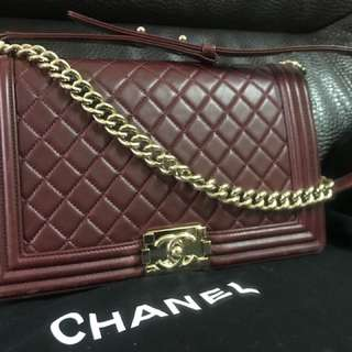 Chanel Boy 28cm