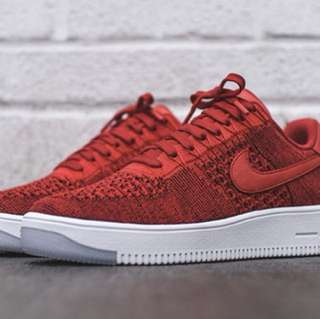 Nike Air Force 1 Ultra Flyknit University Red