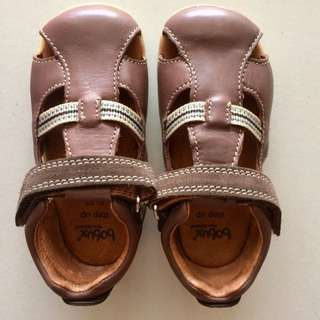 BOBUX Baby Shoe / Children Shoe - Choc Intrepid Sandals (EU 19, 21, 22)