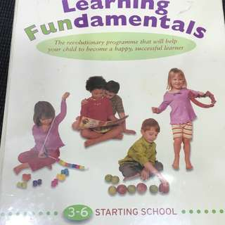 Preschool Learning Foundamentals
