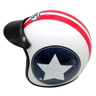 BMC Helmet Buddy Americana (White/Red/Blue)