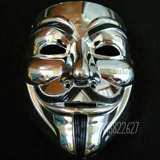 TOPENG MUKA MASK VENDETTA ANONYMOUS