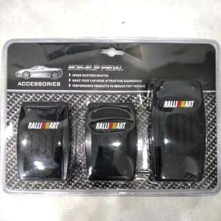 Ralliart sporty nonslip pedal for manual