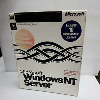 Microsoft Windows NT Server w 10 CAL