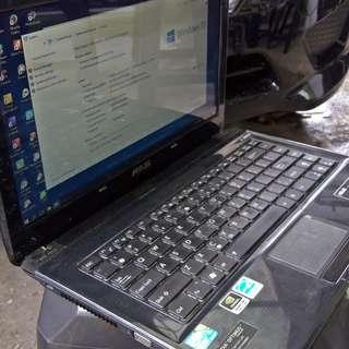 Laptop Notebook Bekas Second Seken Asus A42j Spek Bagus