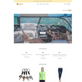 Selling Online E-Commerce Shop - Business For Takeover