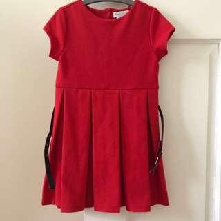 Ralph Lauren Baby/ Toddler girl red dress