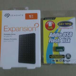 SEAGATE EXPANSION 1TB external HDD repriced!