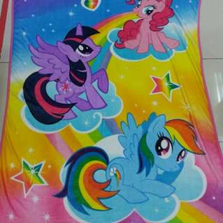 Kids Little Pony Blanket