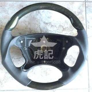 全新 烏眼木變形蟲方向盤 非台製品W211 W463 R230 W219 CLS63 SL350 SL55 SL63 G320 G500 E63T CLS350