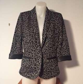Sussan Leopard Print blazer