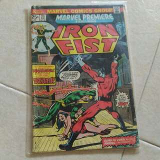 Marvel Iron Fist comic