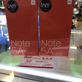 Xiomi redminote 5A prime kredit Aeon/ cash