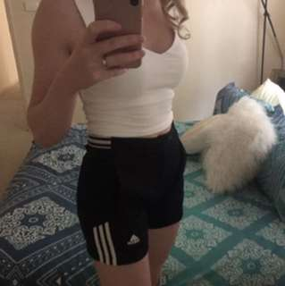 Adidas Retro Vintage Shorts High Waisted