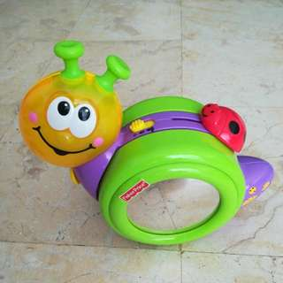 Fisher Price Crawl-along Snail