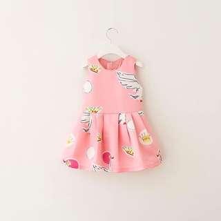 CNY dress, lovely swan