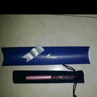 Swarovski Crystalline Lady Ballpoint Pen, Light Lilac