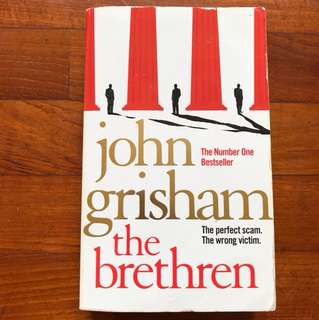 "John Grisham book ""the brethren"""