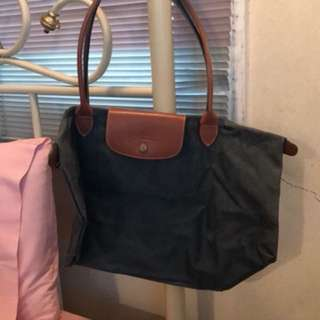 Longchamp Pliage Long Handle
