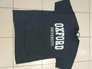 T-Shirt Kaos Oxford University Original BNWT