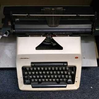 Olympia mechanical typewriter