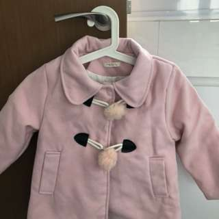 Sweet pink winter jacket