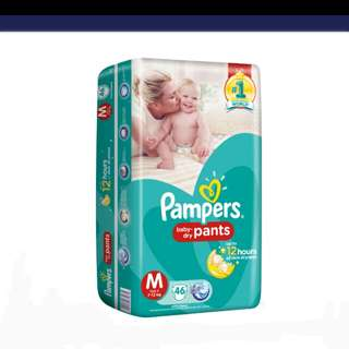 Pampers Pants/Pull-Ups Unisex (M)
