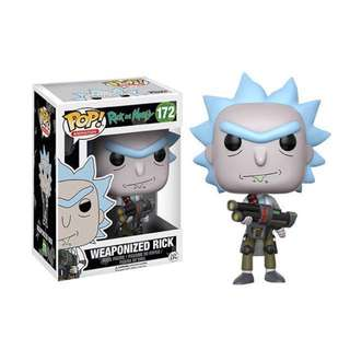 Rick and Morty Pop Vinyl - Weaponised Rick