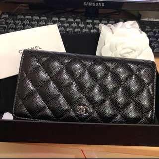 Chanel銀包(荔枝皮)