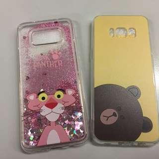 傻豹流沙 熊大 三星 Samsung S8 手機套 電話殼