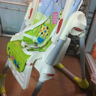 Chicco high chair 90% new