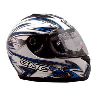 BMC Helmet Full Star #1 (Black/White/Blue)