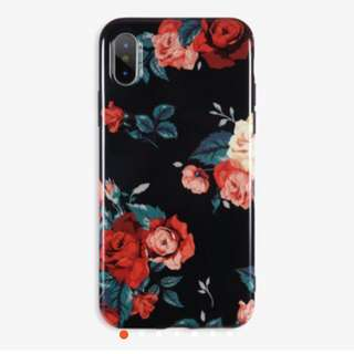 ❣️floral glossy case❣️