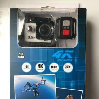4K Action Cam 相機全套連配件及額外後備電 (Not Go Pro)