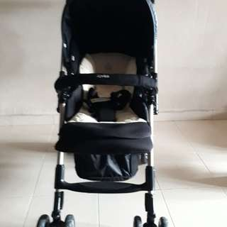 Stroller Aprica Laura Quattro Guild (MODEL IS MADE FOR JAPANESE DOMESTIC MARKET