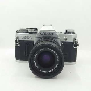 Canon AE-1 with FD 35-70mm
