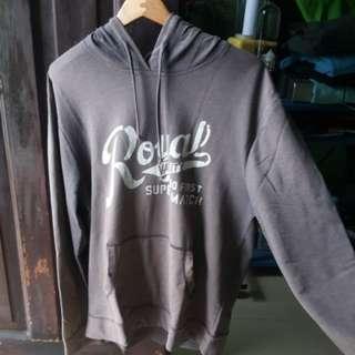 Grey Royal Hoodie Jacket