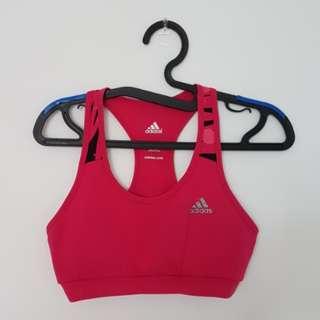 Adidas Sports Bra - Hot Pink, S